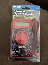 Cen Tech Digital Multimeter 7 Function 90899 Brand New Sealed
