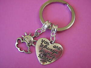 Image Is Loading Birthday Keyring Anniversary Girlfriend Boyfriend Gift Sister Friend