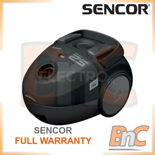 Cylinder Vacuum Cleaner Sencor SVC-52BK EUE3 700W Full Warranty Vac Hoover