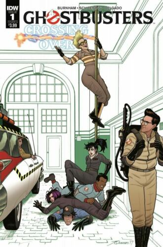 Ghostbusters Crossing Over #1 Cover A NM 2018 IDW Vault 35