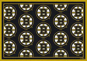 Boston Bruins Milliken NHL Team Spirit Indoor Area Rug