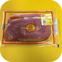 Hobes Old Fashioned Sugar Cured Country Ham Pork Steak Slices Breakfast Biscuit