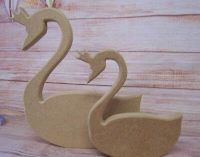 Swan craft blanks 18mm Thick MDF free standing