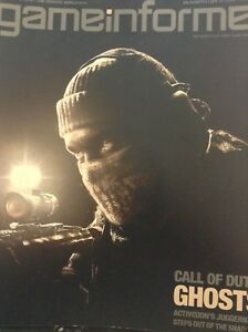 Gameinformer Magazine Call Of Duty Ghosts No.246 October 2013 062718nonrh