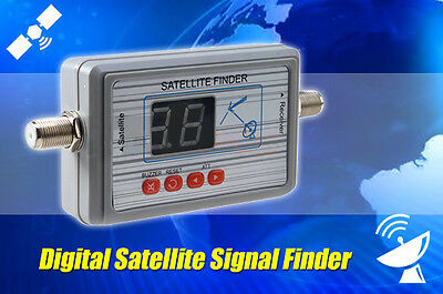 OZ TV Satlink WS 6903 Digital Satellite Signal Finder Meter LCD Display