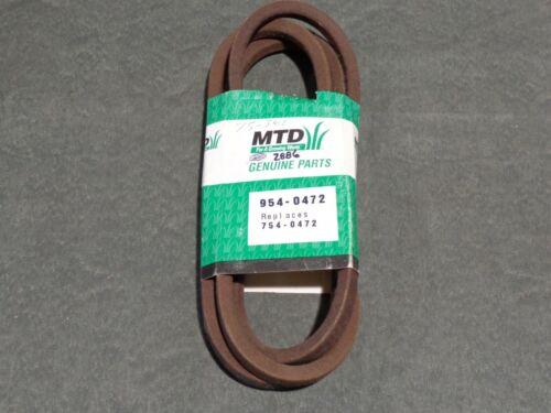 MTD TROY BILT CUB CADET 954-0472 PTO DECK BELT GENUINE OEM 754-0472