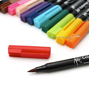 Sakura Koi Coloring Brush Pens 48 colors - Choose the color - single ...