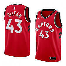 Raptors Toronto Jersey(Siakam#43)RED-size XL