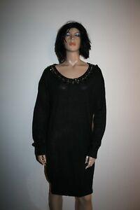 TRUSSARDI-JEANS-VESTITO-DONNA-Tg-M-WOMAN-WOOL-DRESS-CASUAL-VINTAGE-A681