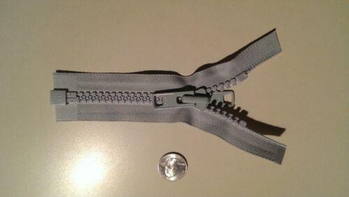 YKK #10 PEARL GRAY Zipper Marine  Bimini Tops UV Rated Boat Separating