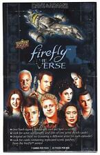 FIREFLY: THE VERSE Hobby Box Upper Deck -NATHAN FILLION, MORENA BACCARIN AUTOS?