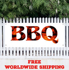 1.5/'X4/' BBQ RIBS BANNER Outdoor Sign Barbeque Chicken Pulled Pork Brisket Smoked