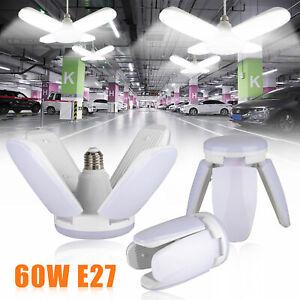 60W-5400lm-E27-LED-Garage-Shop-Work-Lights-Home-Ceiling-Fixture-Deformable-Lamp