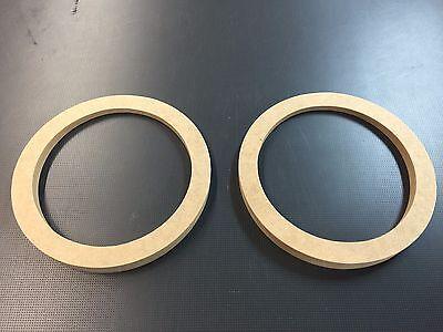 "MDF Speaker rings, Angled Large size 6.5"" custom cut order"
