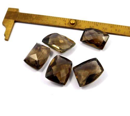 Details about  /Faceted Smoky Topaz Quartz Lot Loose Gemstone MRM22151-MRM22164