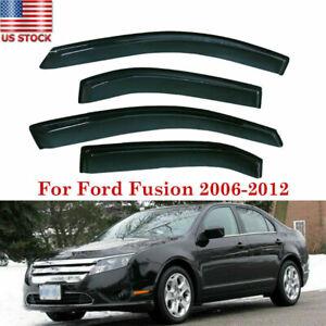 For Ford Fusion 2006-2012 Vehicles Window Visor Rain Deflector Smoke
