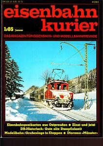 Eisenbahn-Kurier-1985-1988-1989-1990-1991-1995-1996-1997-1998-1999-Auswahl-gt-gt-gt
