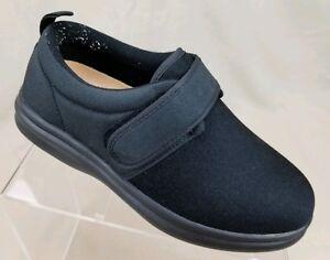 b99899a3da7a DR COMFORT Marla Women s Stretchy Comfort Shoes Black Diabetic ...