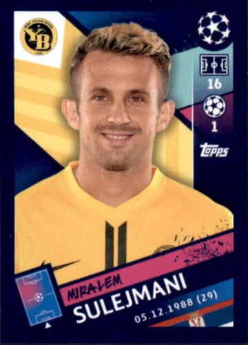 Sticker 555 Topps Champions League 18//19 Miralem Sulejmani