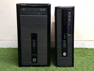 Guenstig-HP-EliteDesk-ProDesk-i3-i5-MT-SFF-PC-8gb-RAM-500gb-HDD-Windows-10-WiFi