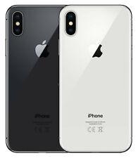 Apple iPhone X - 256 GB - Space Grau - Silber - Gratis Glasfolie!-30 Tage testen