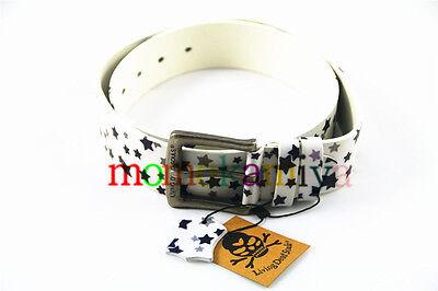 Living Dead Souls,Punk Fashion Tattoo PU Belts mix style S M L XL Boy Girl sale