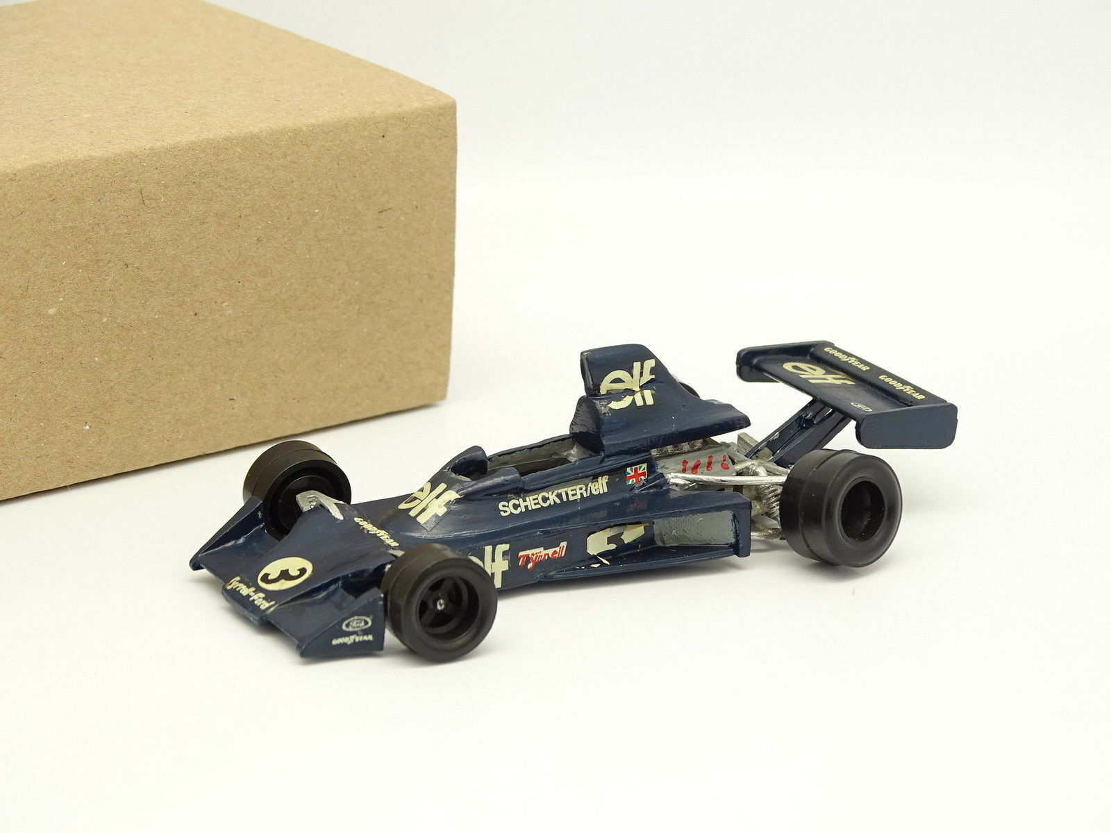 John day metal assembled kit 1 43 - f1 tyrrell 007 2 GERMANY GP 1975 ferrari