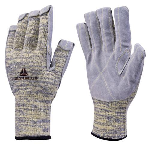 Delta Plus Venitex VENICUT50 Grey Taeki Level 5 Heat /& Cut Resistant Work Gloves