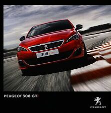 Peugeot 308 GTi 10 / 2015 catalogue brochure Czech tcheque