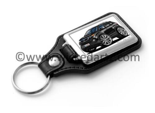 WickedKarz Cartoon Car Kia Sorento 4x4 SUV 2010 in Black Stylish Key Ring