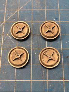Resin-Set-of-4-Crossbar-Generic-Custom-Hubcap-Wheel-Cover
