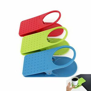 Image Is Loading New Clip Type Desk Cup Holder Organizer