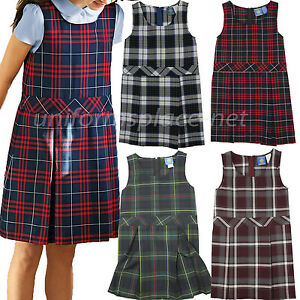 School Uniform Girls Plaid Jumper Tunic With Attached Belt (Half Sizes) $ French Toast V Front Jumper Dress. $ QUICKVIEW. School Uniform Girls' High Neck Pleated Plaid Jumper. $ SIGN UP. FOR PROMOTIONS, COUPONS AND MORE! Jumpers Skirts & .