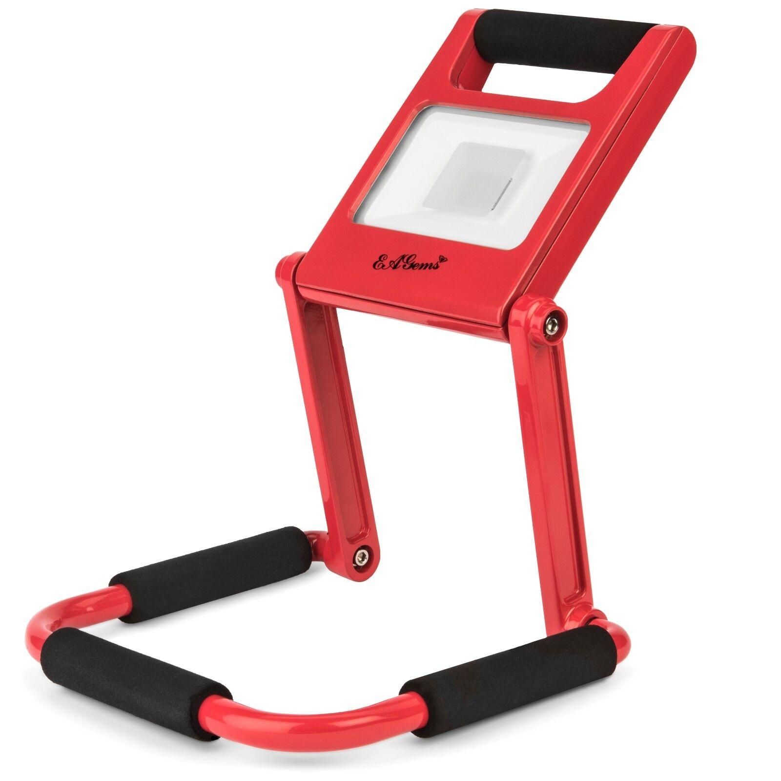 LED Work Light by EAGems Rechargeable Work Lamp Flashlight Spotlight600 Lumens