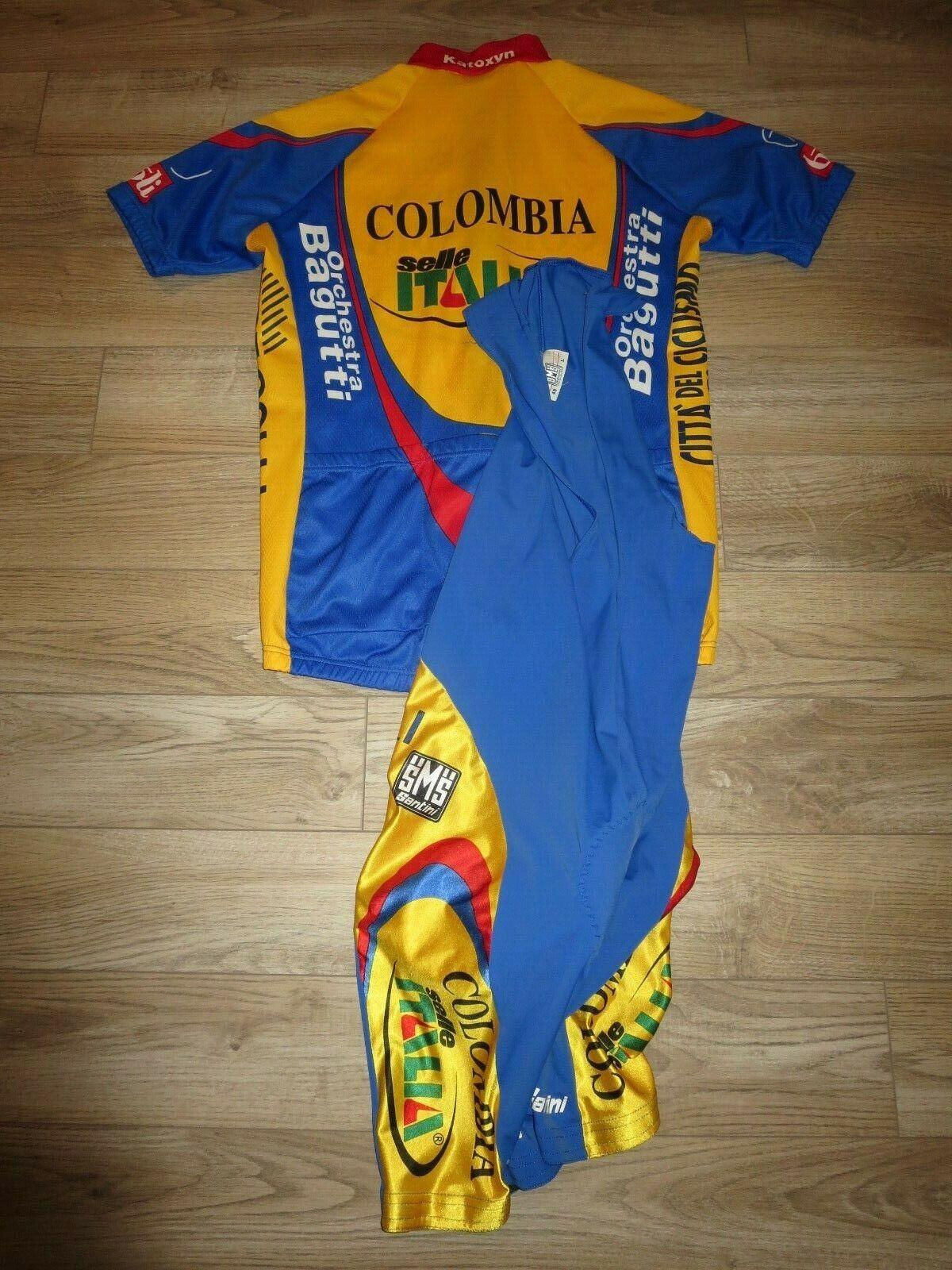 Columbia Ciclismo Mountain Bike Maglia Santini Ideale L 48