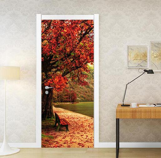 3D Ahorn 73 Tür Wandmalerei Wandaufkleber Aufkleber AJ WALLPAPER DE Kyra  | Vielfalt  | Perfekte Verarbeitung  | Gutes Design