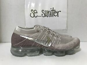 Details about Women's Nike Air Vapormax Flyknit String Chrome Sunset Glow 849557 202 Size 12