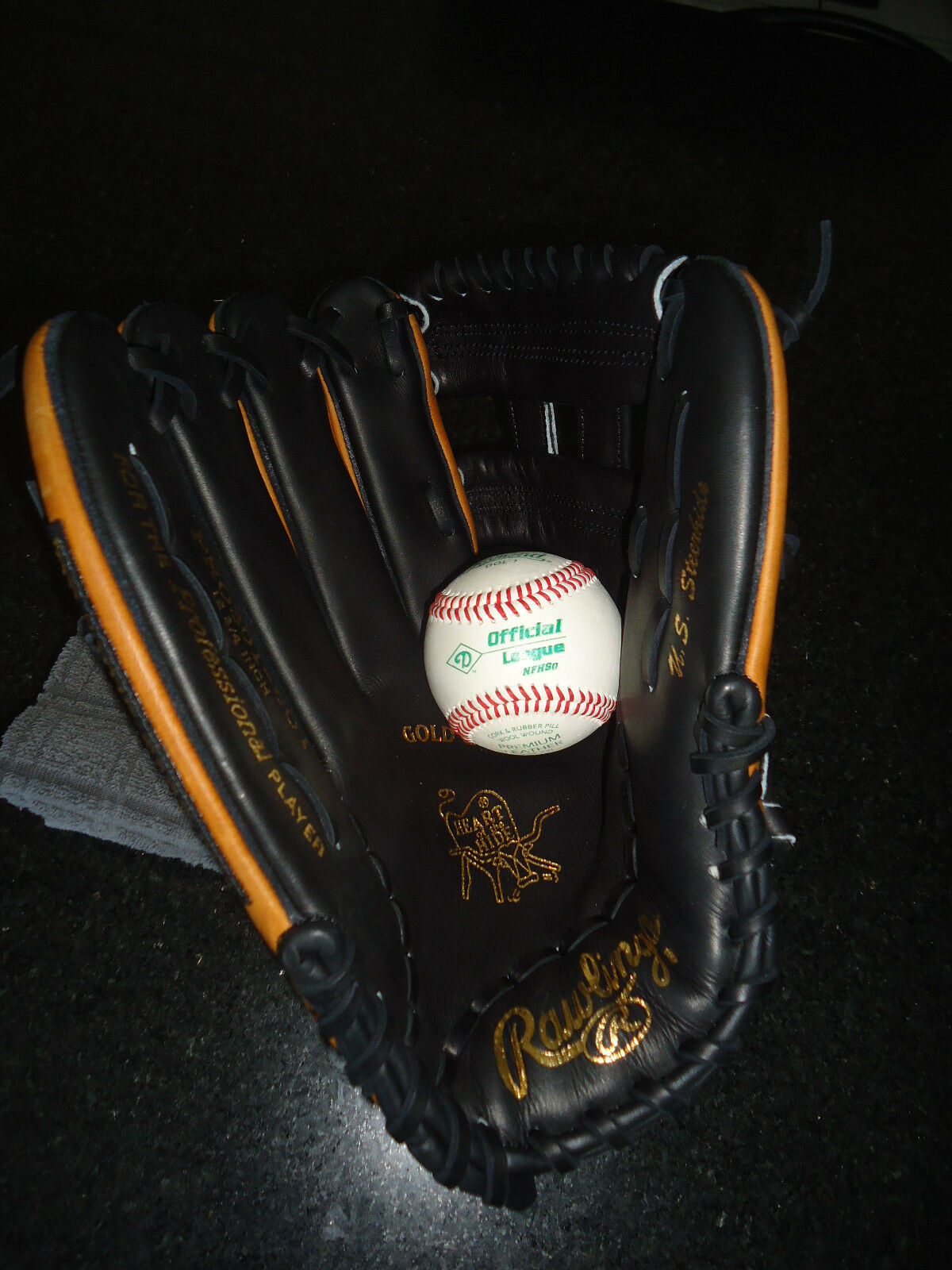 Rawlings Heart of the hide (HoH) (MFG PRO301-6OT Guante 12.75