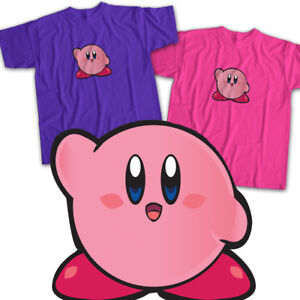 Nintendo Kirby Video Game Anime Cartoon Cute Mens Womens Kids Unisex