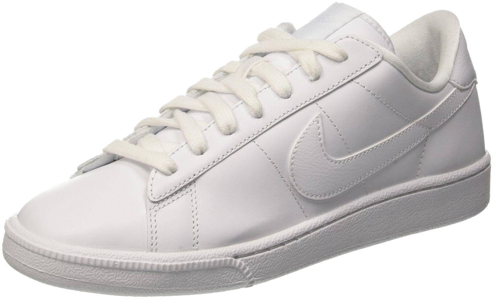 Nike Uomini Tennis Classico Moda Di  Cuoio Bianco Di  Di  Da Ginnastica 10 S (M) Noi dcc2a1