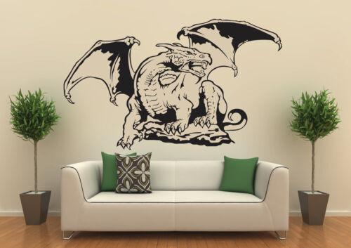 Dragon no 4 Variant B Size 100x60cm Wall Tattoo