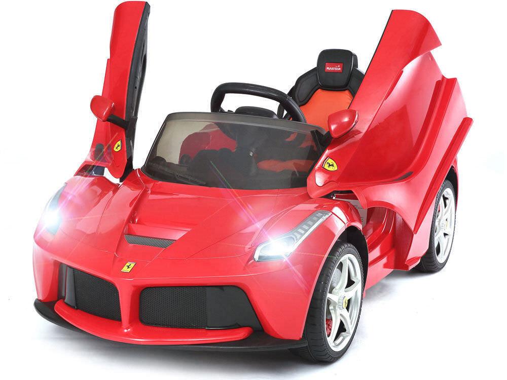 Rastar Ferrari 12v LaFerrari (RC 2.4ghz) Kids Kids Kids Ride On Car Red Ferrari 89b45c
