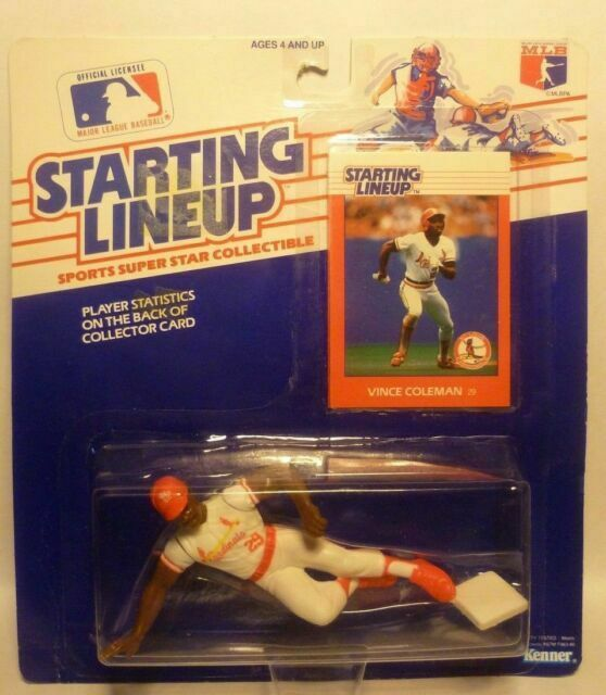 Starting Lineup 1996 MLB Deion Sanders figurine et carte