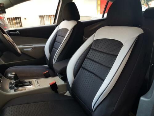 Automotive seat covers protectors Ford Mondeo black-white NO2673421 complete