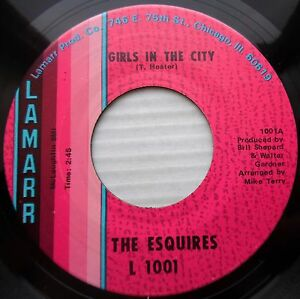 Details about ESQUIRES northern soul 45 GIRLS IN THE CITY / AIN'T GONNA  GIVE IT UP vg++ F628