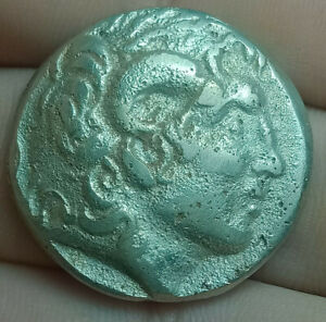 Alexander-the-Great-336-323-BC-Exquisite-Drachm-Ancient-Greek-Silver-Coin-15-9g