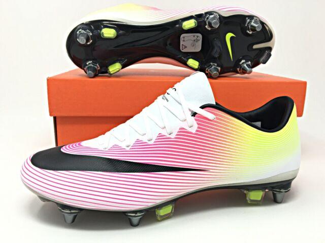 sprzedawca detaliczny świetne ceny klasyczne dopasowanie Nike Mercurial Vapor X SG-PRO Soccer Cleats Mens Size 6/Womens 7.5  (648555-108)
