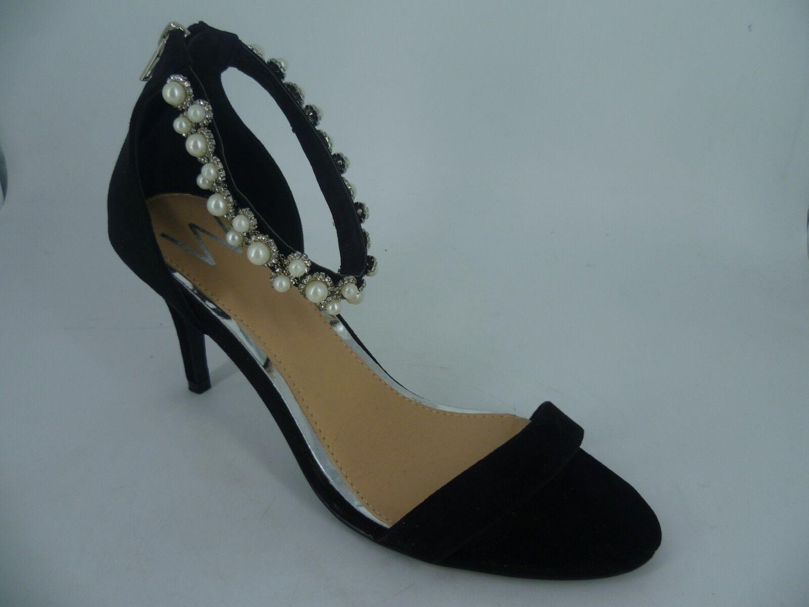 Wallis Joya y Correa en el tobillo tobillo tobillo apenas hay Sandalias Negro UK 7 EU 40 LN180 ab 09  en venta en línea