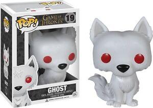 Game of Thrones - Direwolf Ghost Pop! Vinyl Figure * NEW In Box * Funko *