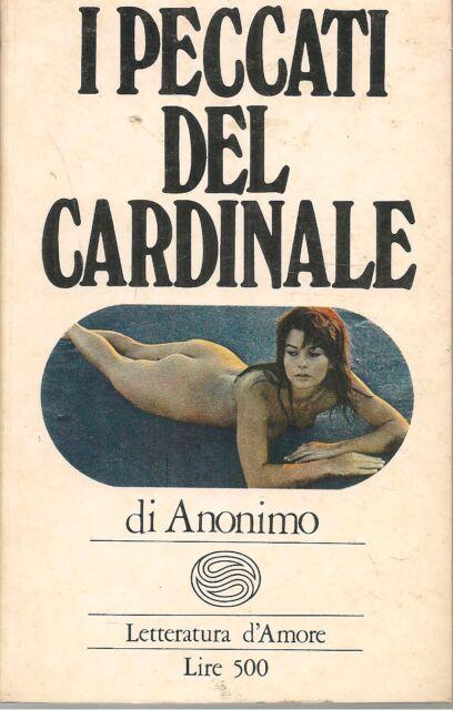 I PECCATI DEL CARDINALE - ANONIMO